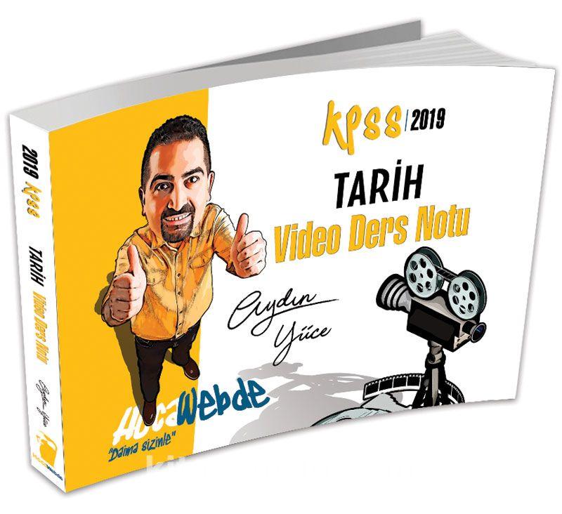 2019 KPSS Tarih Video Ders Notu - Aydın Yüce pdf epub