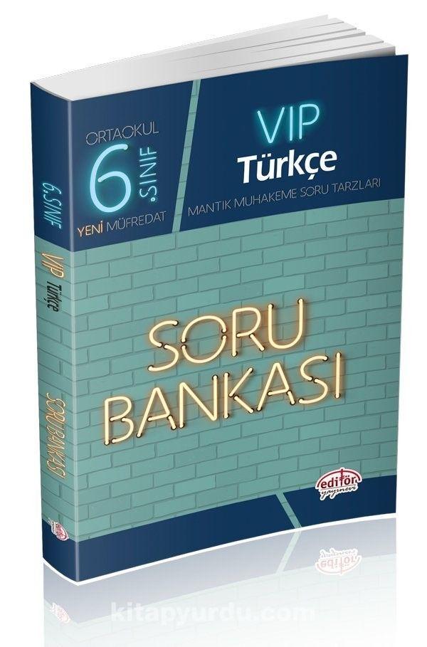 6. Sınıf Vıp Türkçe Soru Bankası - Kollektif pdf epub