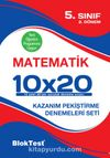 5. Sınıf 1.Dönem Matematik 10x20 Kazanım Pekiştirme Denemeleri Seti