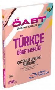 2016 ÖABT Türkçe Öğretmenliği Çözümlü Deneme Soruları (10 Adet ) (Kod:1182)