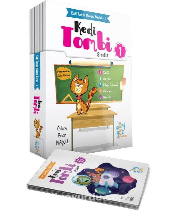 Kedi Tombi Macera Serisi 1 - 5 Kitap Değerlendirme Testi - Özlem Pınar İvaşçu pdf epub