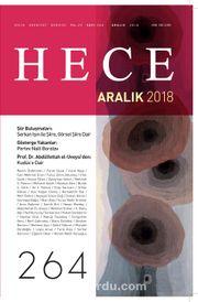 Sayı:264 Aralık 2018 Hece Aylık Edebiyat Dergisi