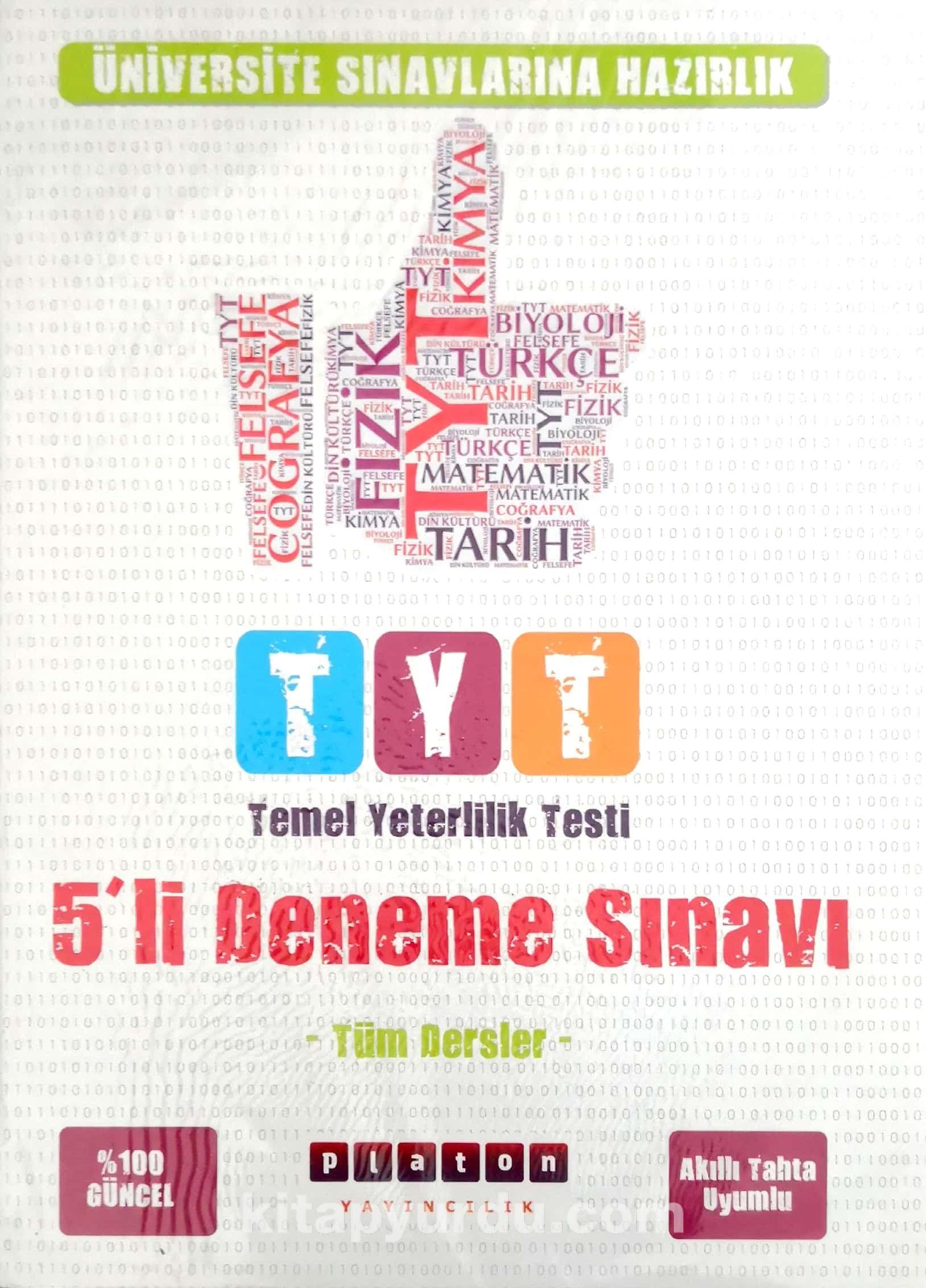 TYT Tüm Dersler 5'li Deneme Sınavı