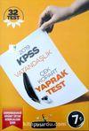 KPSS Vatandaşlık Çek Kopar Yaprak Test