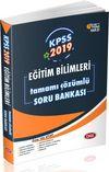 2019 KPSS Eğitim Bilimleri Çözümlü Soru Bankası