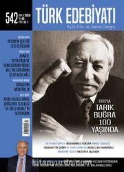 Türk Edebiyatı Aylık Fikir ve Sanat Dergisi Aralık 2018 Sayı: 542