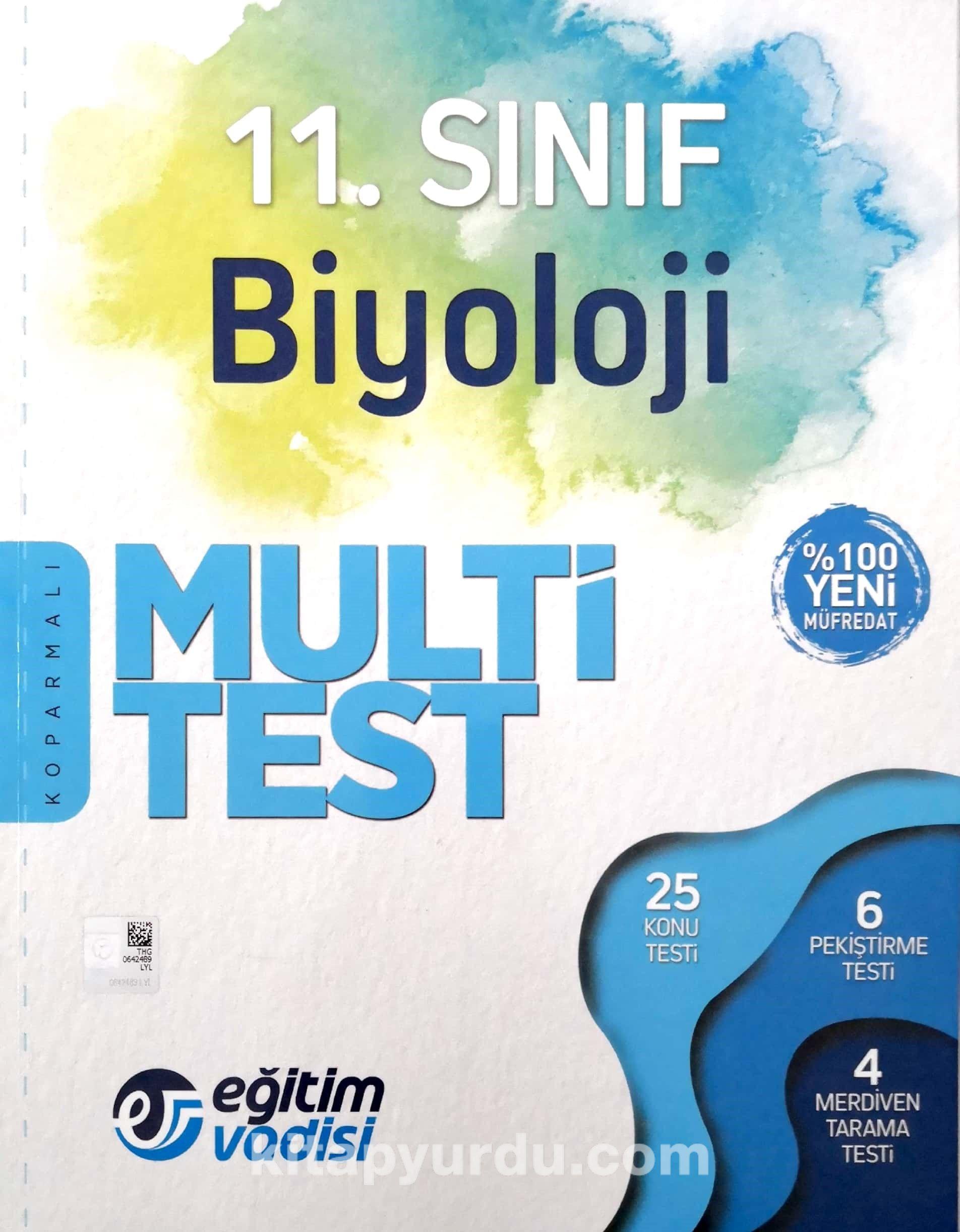 11. Sınıf Biyoloji Multi Test - Komisyon pdf epub