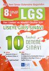 LGS 8. Sınıf 10 Fasikül Deneme Sınavı