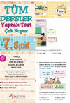 7.Sınıf Tüm Dersler Yaprak Test