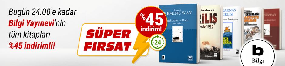 Bugüne Özel Bilgi Yayınevi %45 indirimli!
