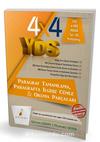 4x4 YDS Seti 2. Kitap Paragraf Tamamlama, Paragrafta İlgisiz Cümle ve Okuma Parçaları