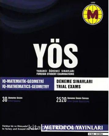 YÖS Deneme Sınavları 30 Sınav - Kollektif pdf epub