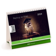 2019 Kitapyurdu Masa Takvimi (Baykuşlar)