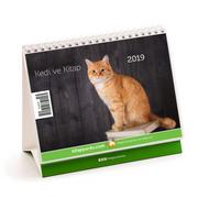 2019 Kitapyurdu Masa Takvimi (Kediler)