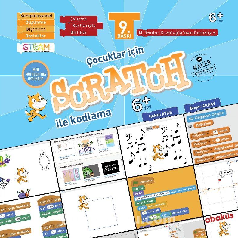 Çocuklar İçin Scratch İle Kodlama 6+ Yaş - Bager Akbay pdf epub