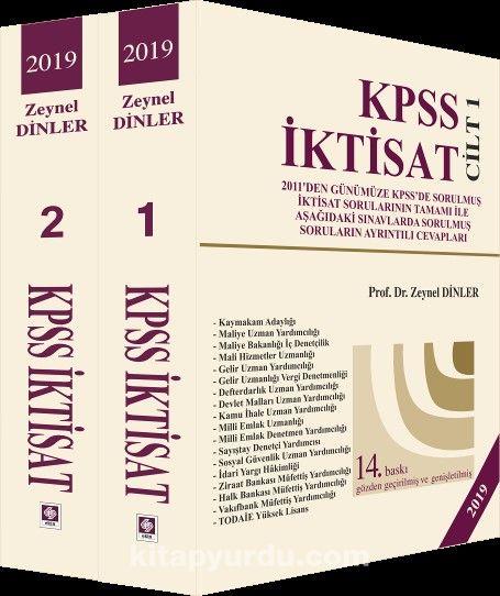 2019 KPSS İktisat (2 Cilt) - Prof. Dr. Zeynel Dinler pdf epub
