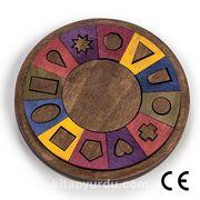 Montessori Ahşap Zeka Oyunları / w-Symbol 15