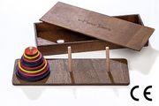 Montessori Ahşap Zeka Oyunları / w-Hanoi Towers