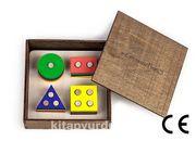 Montessori Ahşap Zeka Oyunları / w-Geometric Four S