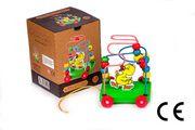 Montessori Ahşap Zeka Oyunları / w-Duck Trailer