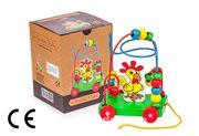 Montessori Ahşap Zeka Oyunları / w-Rooster Trailer
