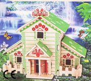 Montessori Ahşap Zeka Oyunları / w-3D Puzzle- Forest House