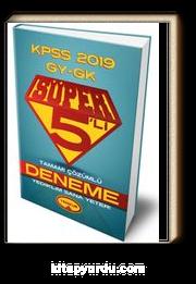 2019 KPSS Genel Yetenek Genel Kültür Süper 5'li Tamamı Çözümlü Deneme