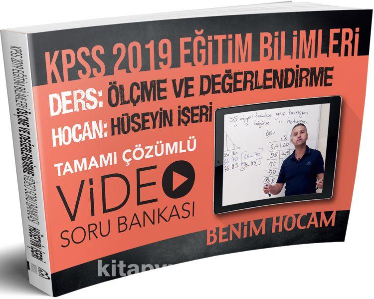 2019 KPSS Eğitim Bilimleri Ölçme ve Değerlendirme Video Soru Bankası - Hüseyin İşeri pdf epub