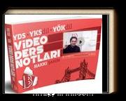 YDS-YKSDİL-YÖKDİL Video Ders Notları