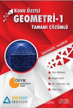 TYT Geometri 1 Konu Özetli Tamamı Çözümlü - Kollektif pdf epub