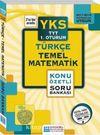 YKS TYT Türkçe Temel Matematik Konu Özetli Soru Bankası 1. Oturum