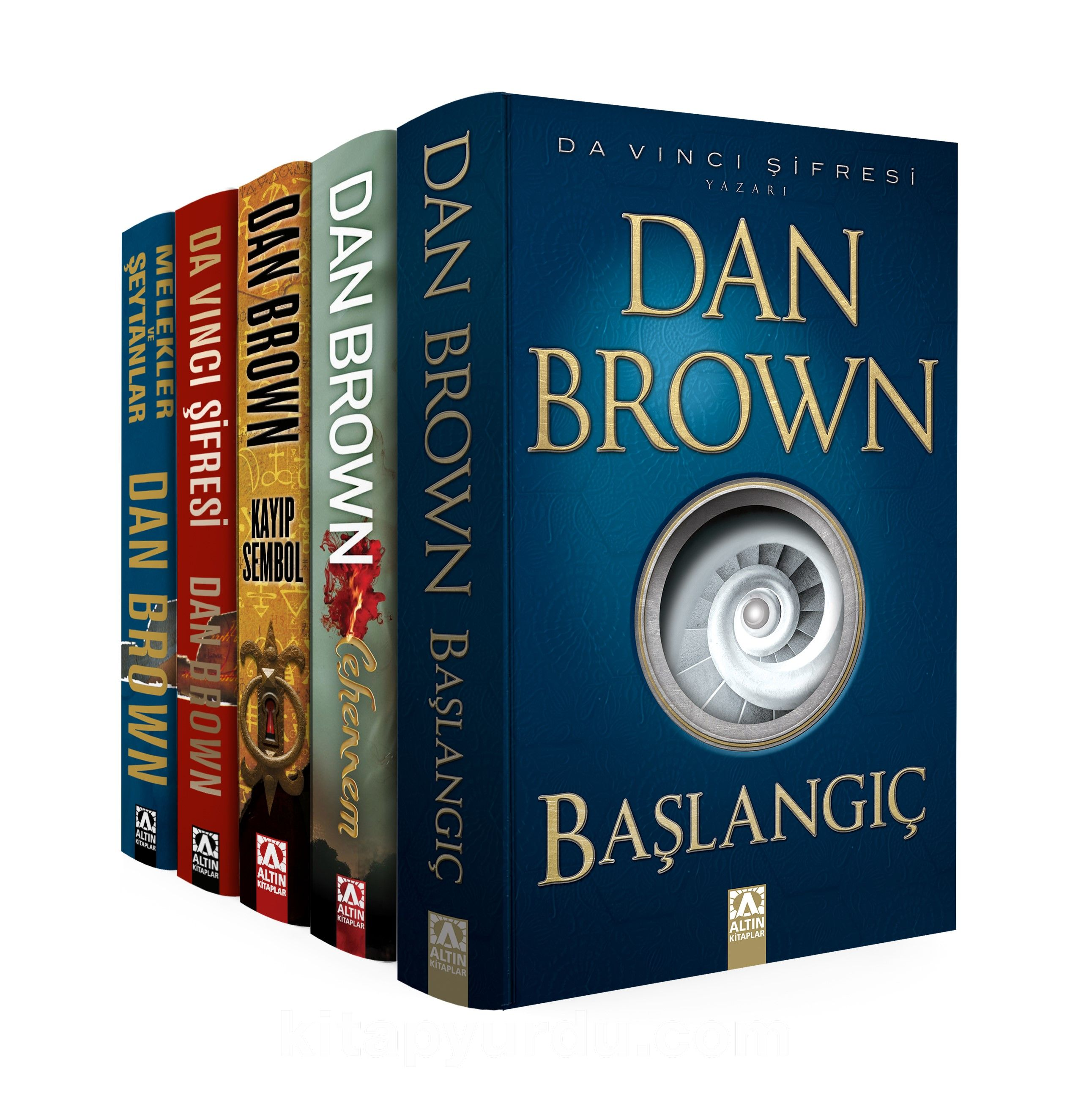 Dan Brown Set - Robert Langdon Serisi (5 Kitap Takım) - Dan Brown pdf epub