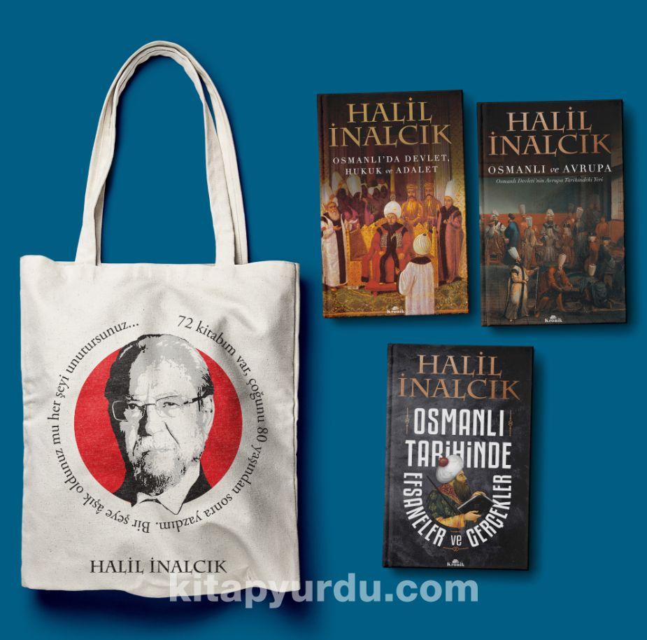 Halil İnalcık Seti (Bez Çanta Hediyeli) (3 Kitap) - Prof. Dr. Halil İnalcık pdf epub