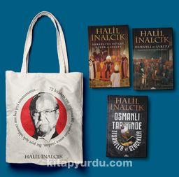 Halil İnalcık Seti (Bez Çanta Hediyeli) (3 Kitap)