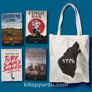 Kadim Türkler Seti (Bez Çanta Hediyeli) (4 Kitap)