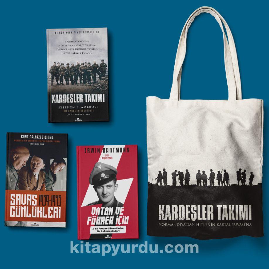 İkinci Dünya Savaşı Seti (Bez Çanta Hediyeli) (3 Kitap)