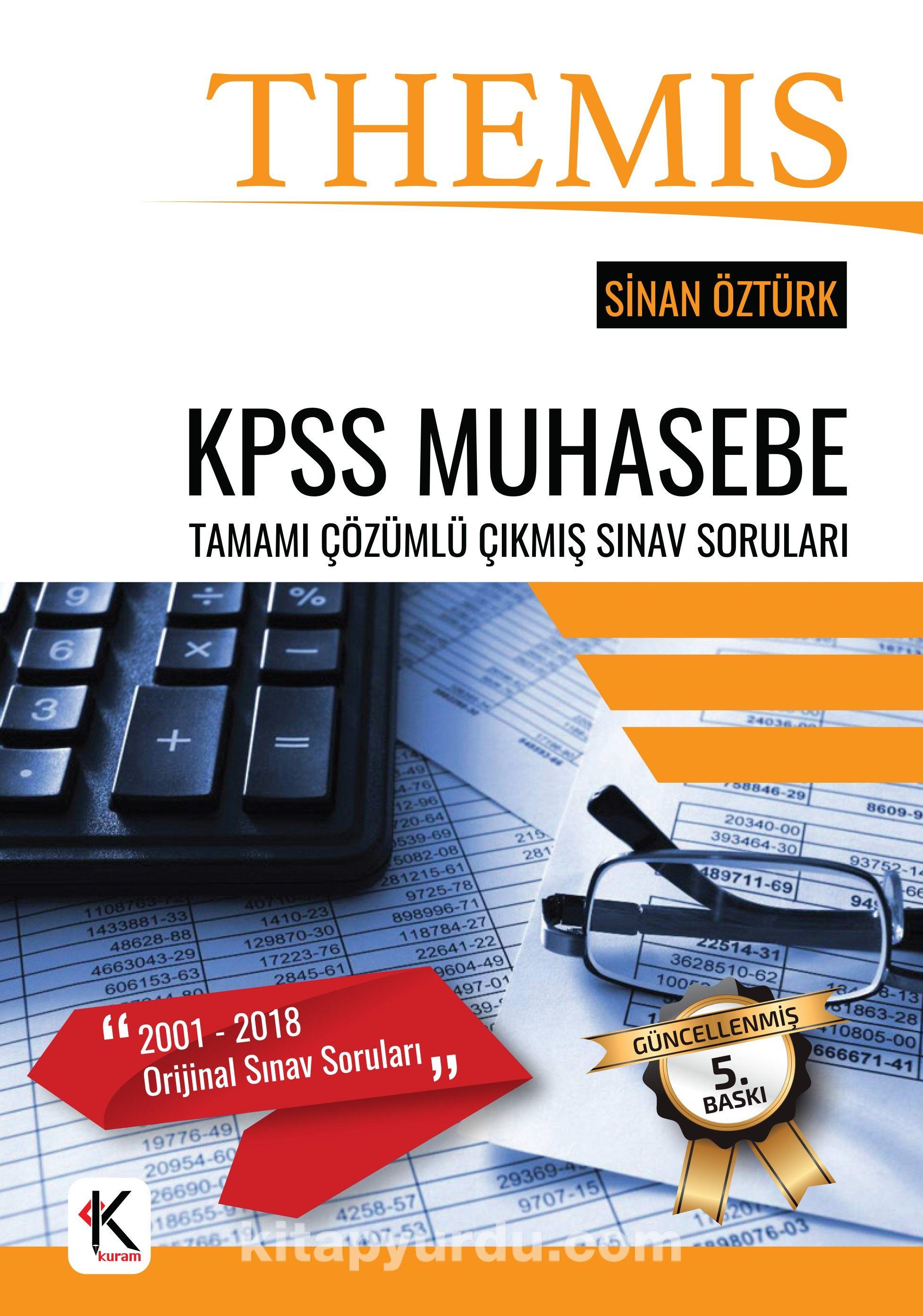 KPSS THEMIS Muhasebe Tamamı Çözümlü Çıkmış Sınav Soruları Pdf İndir