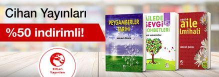 Cihan Yayınları %50 indirim!
