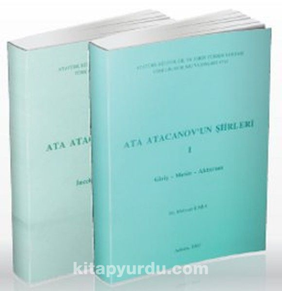 Ata Atacanov'un Şiirleri (2 Kitap)