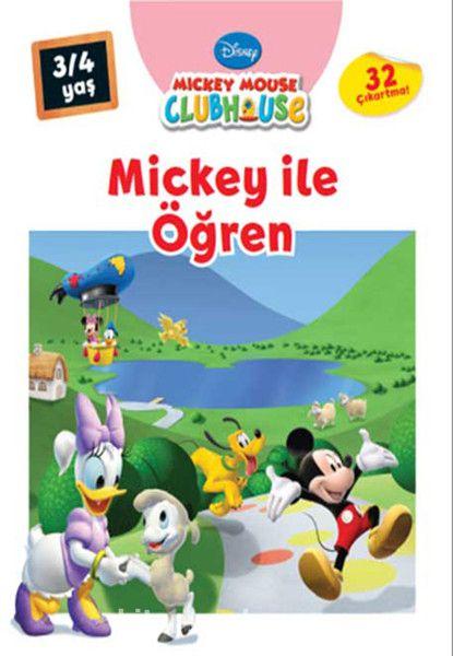 Mickey ile Öğren (3-4 Yaş) - Kollektif pdf epub
