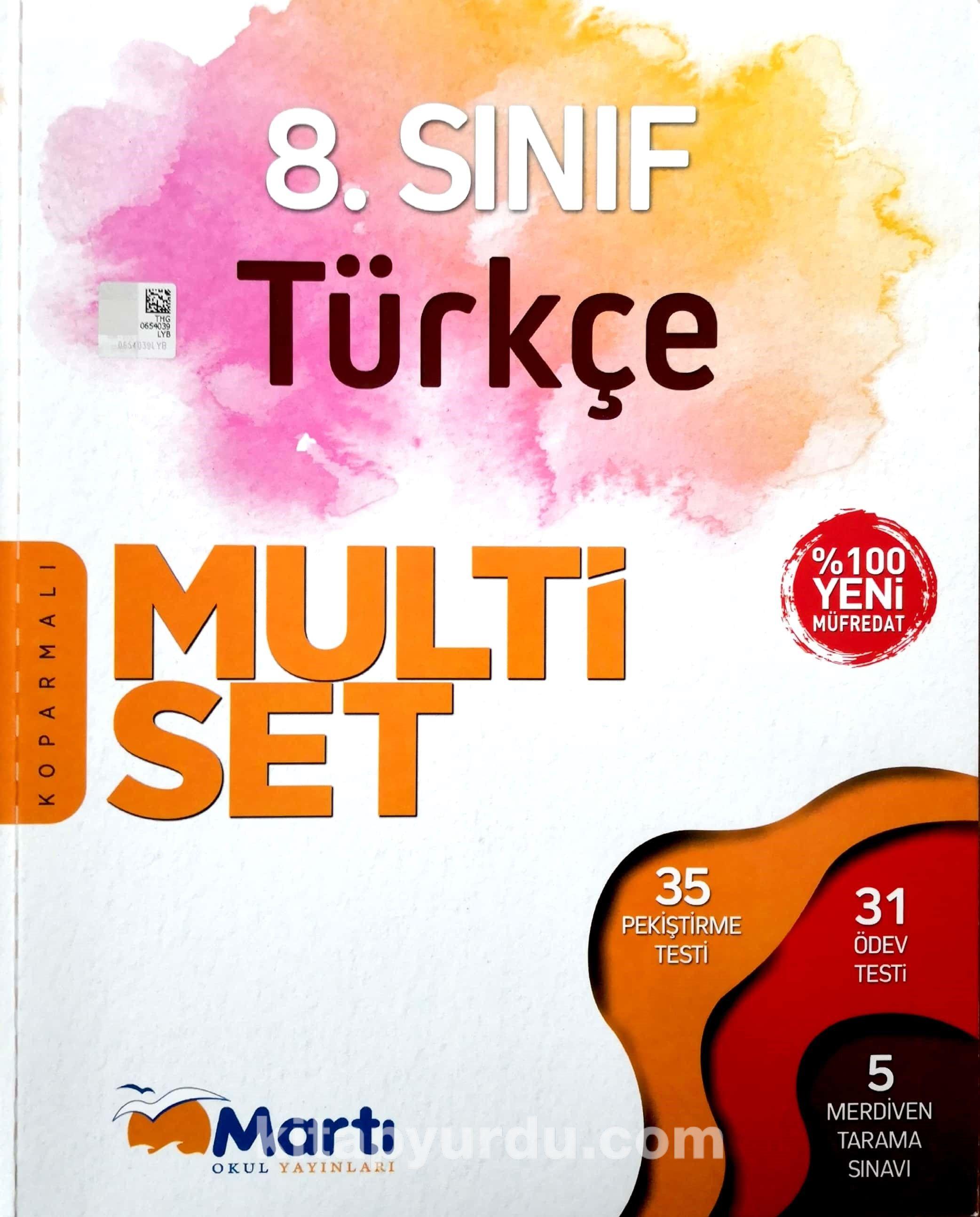 8. Sınıf Türkçe Multi Set - Kollektif pdf epub