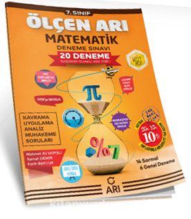 7. Sınıf Ölçen Arı Matematik Deneme Sınavı 20 Deneme - Samet Demir pdf epub