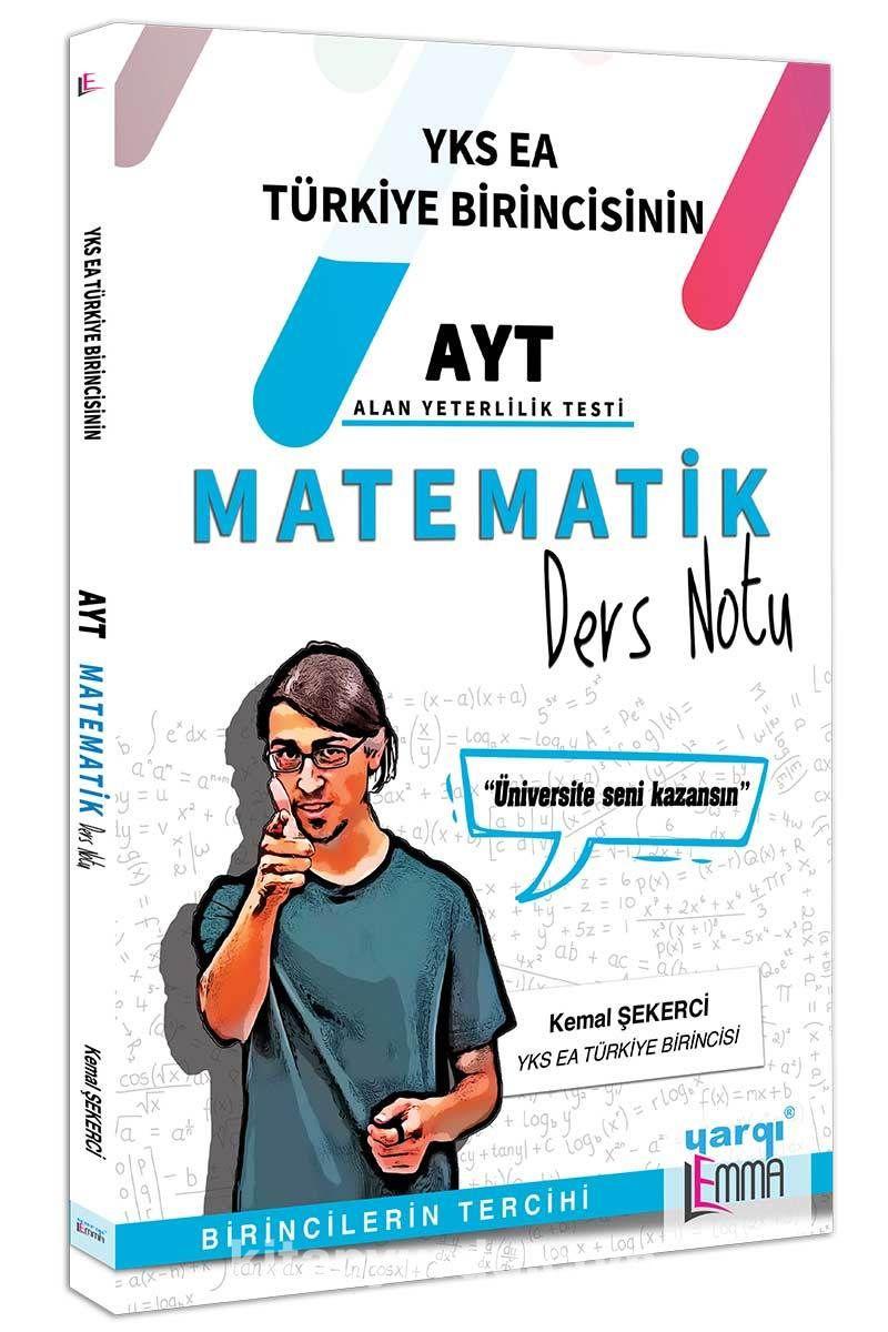 YKS AYT Lemma Matematik Ders Notu - Kemal Şekerci pdf epub