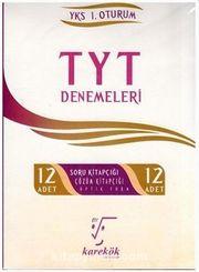 YKS 1.Oturum TYT 12 Deneme Seti