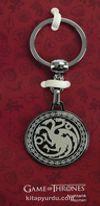 A Game Of Thrones - Tekli Siyah Anahtarlık - Targaryen (GOT526)