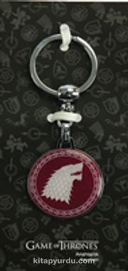 A Game Of Thrones - Tekli Bordo Anahtarlık - Stark (GOT527)