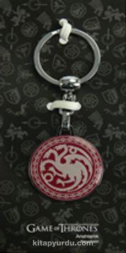 A Game Of Thrones - Tekli Bordo Anahtarlık - Targaryen (GOT530)