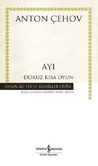 Ayı (Ciltli)Dokuz Kısa Oyun - Anton Çehov pdf epub