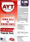 AYT Türk Dili Ve Edebiyatı Çek Kopar Yaprak Test