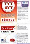 TYT AYT Türkçe Çek Kopar Yaprak Test